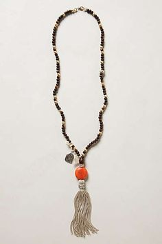 Anthropologie - Deer Stone Necklace