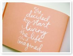 Life imagined