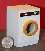 Dollhouse Miniature Modern White Clothes Dryer 1:12 scale A57 Dollys Gallery
