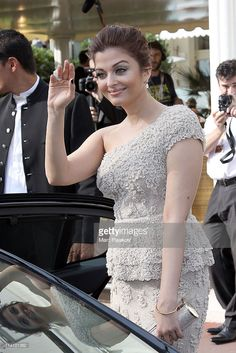 Actress Aishwarya Rai sighted leaving the 'Martinez' hotel on May 11, 2011 in Cannes, France.