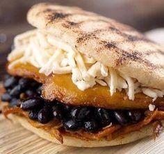 Amaize Menu: Latin Food, Latin Bowls, Arepas, Cachapas, and more. Bakery Recipes, Cooking Recipes, Venezuelan Food, Venezuelan Recipes, Tapas, Salty Foods, Comida Latina, Fun Easy Recipes, Latin Food