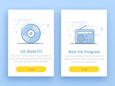 Music Pay Package designed by kawen. Connect with them on Dribbble; Music Channel, Mobile Ui, Music Songs, Packaging Design, Flat Design, Ui Design, Shopping Apps, Empty, Design Inspiration