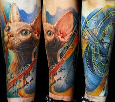 Tattoo Artist - Sergey Gas - Animal tattoo