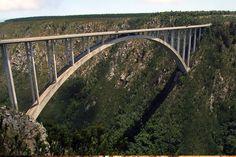 Bungee Jumping Bloukrans Bridge – Tsitsikamma, South Africa