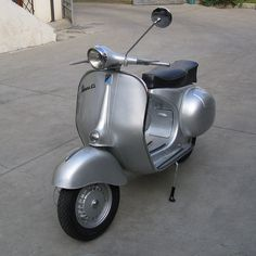 The best looking scooter ever.