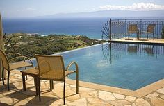 Markandoni, Kefalonia...I could force myself to enjoy this pool and view.