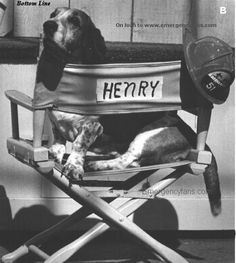 """Henry from Station 51... (on set of """"Emergency!"""" the TV show.)"""