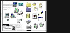 . Windows 95, Desktop Screenshot, History, Design, Historia