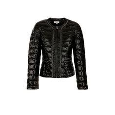 Morgan donsjack jasje zwart winter coat jacket black chanel look Bestel nu  bij wehkamp.nl