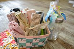 THE QUILT BARN: Crafty Friends Berry Basket