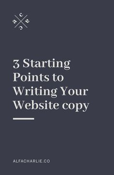 3 Starting Points To Writing Your Website Copy Business Branding, Business Design, Creative Business, Business Tips, Online Business, Web Design Tips, Web Design Inspiration, Design Ideas, Persuasive Words