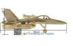 3d puzzle,3d wood jigsaw puzzle,3d diy toy,Best parent-child games,kids toy,fancy toy, intelligence toys, Educational Toys,blocks toys,Military Weapon toys,plane toys,  Wooden F-18 Bumblebee bomber