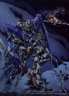 a collection of gundam artwork from around the web Gundam Exia, Gundam 00, Gundam Wing, Space Patrol Luluco, Kenichi The Mightiest Disciple, Knights Of Sidonia, Japanese Superheroes, Conan Movie, Gundam Wallpapers