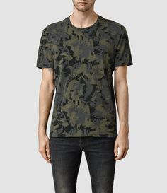 Painted Camo Crew T-Shirt