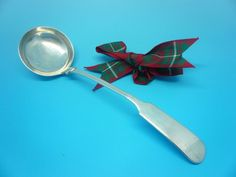 Scottish Provincial Silver Toddy Ladle Alex Cameron Dundee c.1820