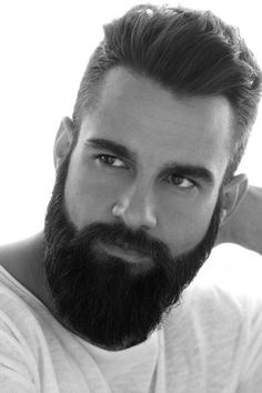 This guide of Face Shape Guide for Beard Styling will help you identify the beard look that will best suit your face shape!