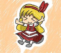 """""""はじめた時間が遅い上に寝落ちまでしたのでタグ無しでエレンちゃん〜! 幺樂団カァニバルおつかれさまでした的な意味もこめて"""""""