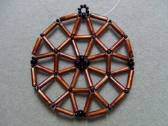 Weaved bugle bead earrings tutorial