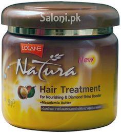 LOLANE NATURA HAIR TREATMENT FOR NOURISHING & DIAMOND SHINE BOOSTER Saloni™ Health