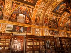 Why You Should Go: About an hour northwest of Madrid, nestled in the Guadarrama mountain range, is this UNESCO-listed small town chock full of gorgeous architecture, most notably the San Lorenzo de El Escorial library (pictured) and monastery. Read More: 10 of the World's Most Beautiful Libraries