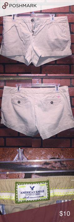 American Eagle Khaki Shorts American eagle khaki shorts size 10 American Eagle Outfitters Shorts