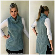 This listing is for my new Easy Hi-Lo Cowl Neck Tunic crochet pattern. This pattern is offered for sale as a digital file (pdf), available for you to download directly from Etsy once your payment has been processed. Please note, you are not buying a tunic, you are buying a crochet