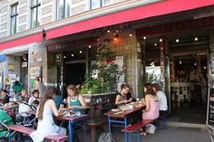 Cafe Morgenrot - Prenzlauer Berg, Berlin. Collectivism lives deep in this leftist cafe with Berlin's best brunch. Pay as much as you can!
