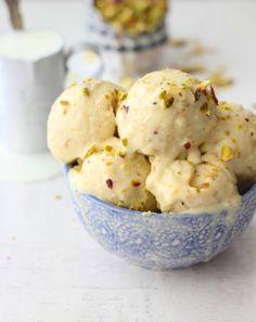 Kulfi (Pista Badam Kulfi) #eggless #Indiandessert #dessert #icecream