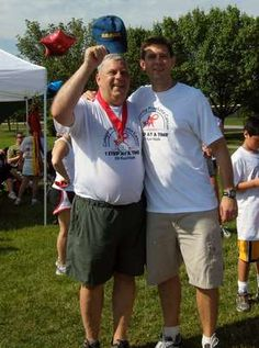 Father and son create prostate cancer awareness event