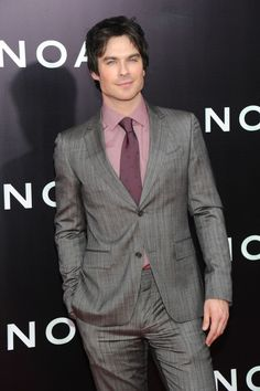 Photos: #TVD's Ian Somerhalder attended the Noah Premiere in | The Vampire Diaries