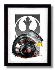Star Pilote Rebel 2 Art Print by RUBIANT de la boutique KOlintribuShop sur Etsy