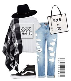 coco in october by miriamfranzan on Polyvore featuring polyvore fashion style Chanel Lipsy Genetic Denim Vans Zimmermann