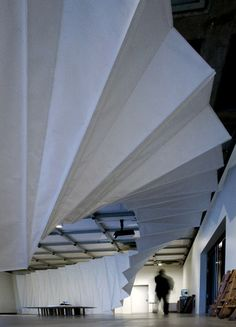 Choreographing You exhibition design by Amanda Levete Architects.