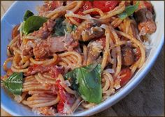 Jamie Oliver 15 Minute Meals: Chicken Cacciatore - Spaghetti and Smoky Tomato Sauce