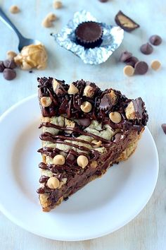 Ultimate Peanut Butter Chocolate Chip Cookie Cake