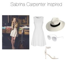 """Sabrina Carpenter Inspired!⚡️"" by jazzrodgers ❤ liked on Polyvore featuring True Decadence, Gianvito Rossi and Smoke x Mirrors"