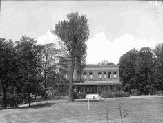 Spangen 1950 Buitenplaats Dijkzigt, woonhuis van de familie Hoboken aan de Westzeedijk 145
