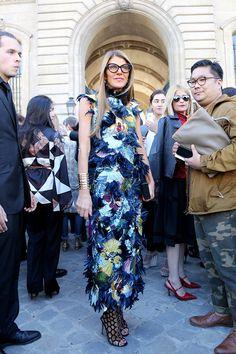 Неделя моды в Париже S/S 2015: street style. Часть III (фото 3)