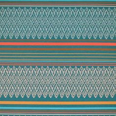Sunbrella by Silver State 66060 Bollywood-Turquoise Indoor / Outdoor Upholstery -