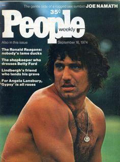 Movie People Magazine Joe Namath Angela Lansbury Freddie Prinze Ronald Reagan 74