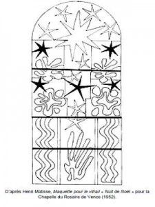 Henri Matisse Model for the stained glass Christmas night Henri Matisse, Colouring Pages, Coloring Sheets, Stained Glass Christmas, Christmas Night, Art Plastique, Art Therapy, Beautiful Patterns, Oeuvre D'art