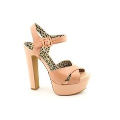 Jessica Simpson Kierstin sandals. These sandals feature criss-crossing nubuck or leather straps in either a solid design or a chic color-block design
