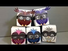 CORUJAS PARA IMPRIMIR   Animais | origami happypuppytruffles