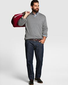 Imagen moda para gorditos del artículo Ropa de Moda para Gordos/Gorditos   Moda Hombres Otoño Invierno 2016