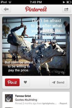 Rodeo quote