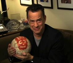 Tom Hanks reunites with his friend Wilson.