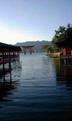 The floating torii of Miyajima.