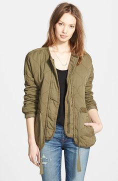 quilted, madewell. #fashion