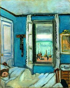 Étretat Interior, 1920 Henri Matisse Love the colour of the walls in this bedroom. Matisse was a master of colour Henri Matisse, Matisse Kunst, Matisse Art, Matisse Pinturas, Matisse Paintings, Abstract Paintings, Oil Paintings, Landscape Paintings, Post Impressionism