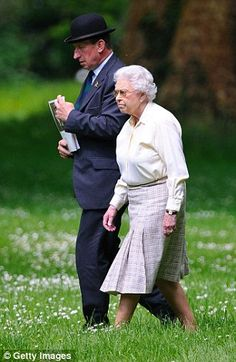 The Queen attends the Royal Windsor Horse Show at Home Park on May 17, 2014.